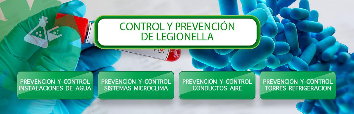 control y prevencion legionella en Sevilla
