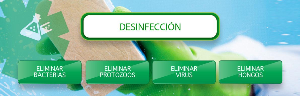 desinfeccion y eliminación de bacterias en Sevilla