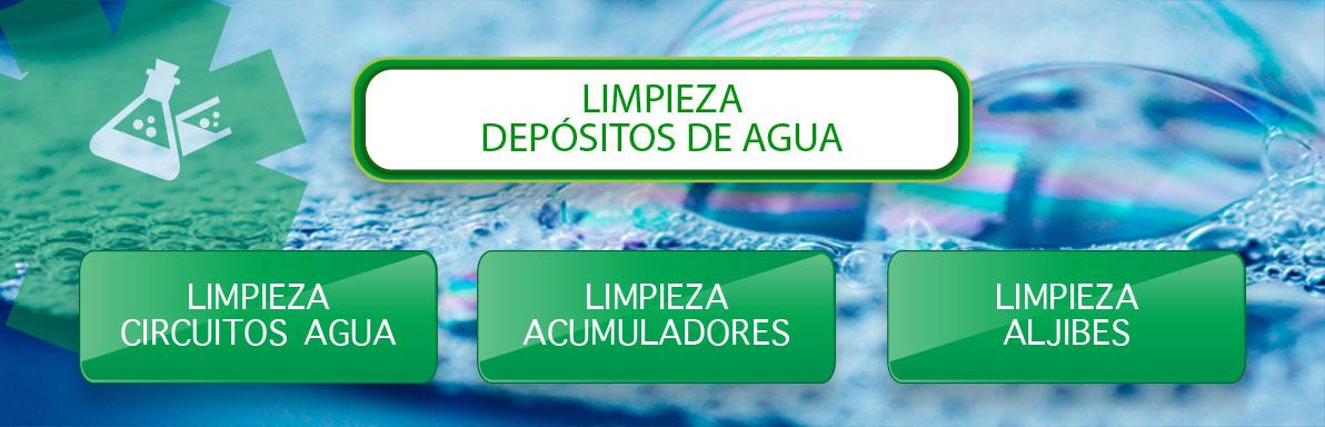 limpieza de depositos de agua limpieza de circuitos de agua en Sevilla